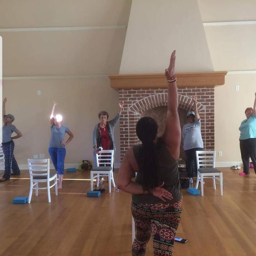 Fitness Farm Chair Yoga 2018