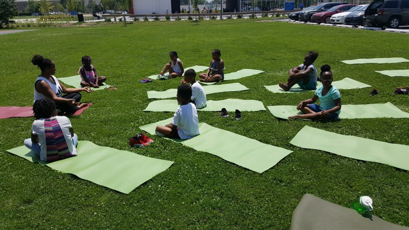 Pop Up Yoga at Tarkington